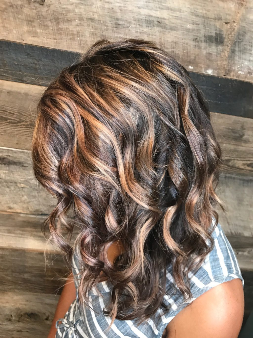 Caramel Highlights Bronde Dimension Fall Color Inspiration Healthy