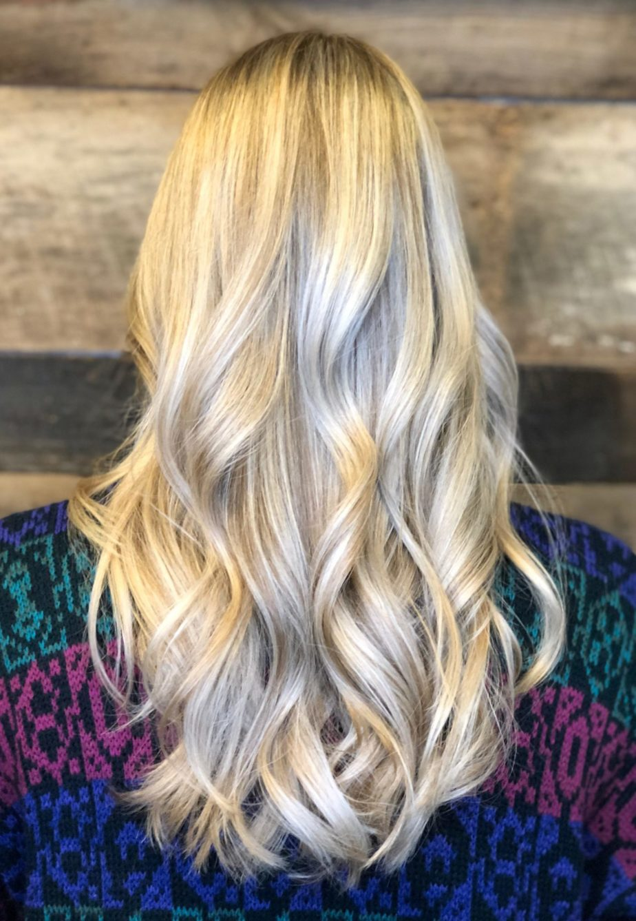 Raleigh Hair Salon Best Reviews Icy Platinum Blonde Hair Color Long