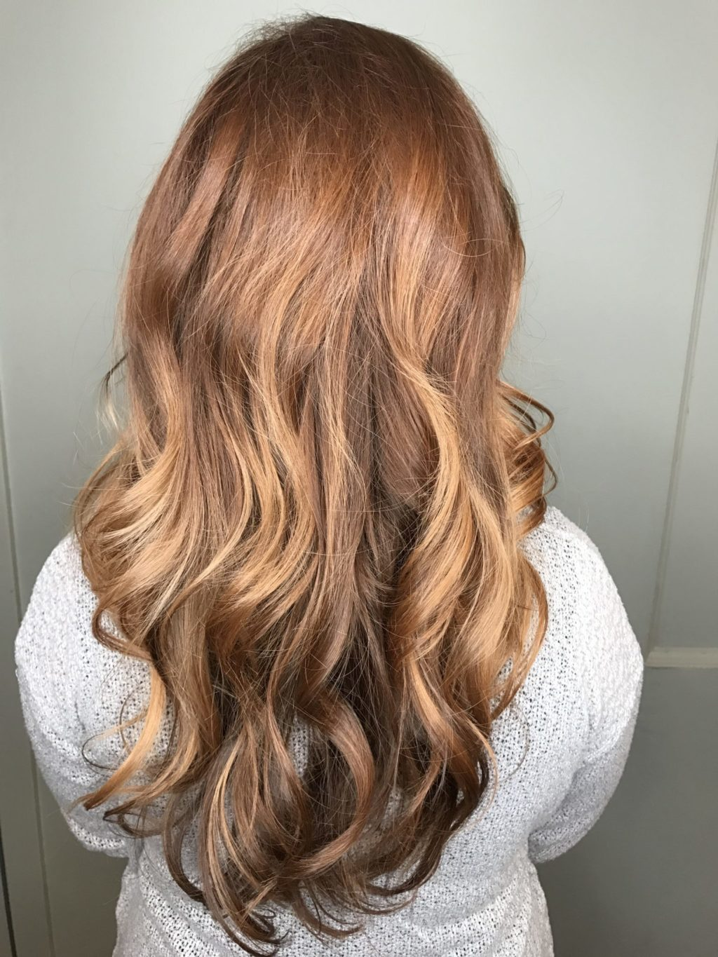 Pinterest Hair Ginger Balayage Reds Perfect Long Layers Haircut And
