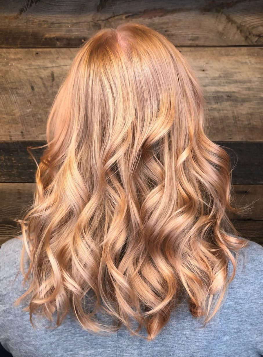 Runway Victoria Secret Rose Gold Gorgeous Soft Waves Beautiful
